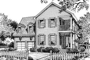 Traditional Exterior - Front Elevation Plan #417-271