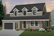 Farmhouse Style House Plan - 3 Beds 1.5 Baths 1751 Sq/Ft Plan #23-278 Exterior - Front Elevation