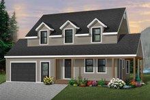 Farmhouse Exterior - Front Elevation Plan #23-278