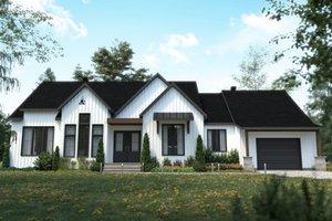 Craftsman Exterior - Front Elevation Plan #23-2745