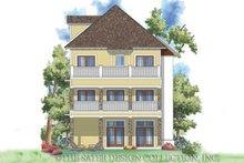 Architectural House Design - Craftsman Exterior - Rear Elevation Plan #930-169