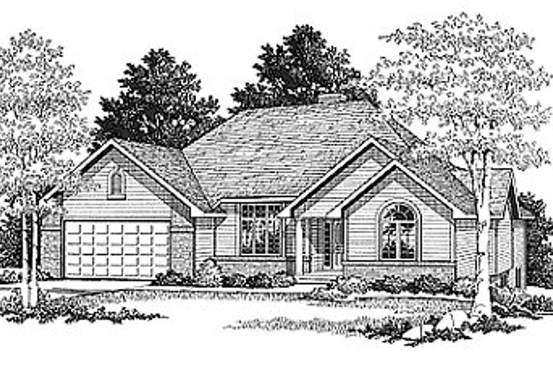 Dream House Plan - Traditional Exterior - Front Elevation Plan #70-143