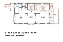 Modern Floor Plan - Main Floor Plan Plan #535-2