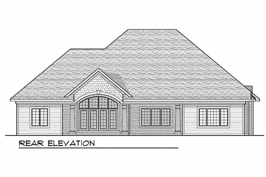 European style house plan 3 beds 2 5 baths 2899 sq ft for Tk homes floor plans