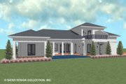 Contemporary Style House Plan - 3 Beds 3 Baths 2419 Sq/Ft Plan #930-521 Exterior - Outdoor Living