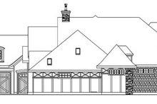 Tudor Exterior - Other Elevation Plan #124-748