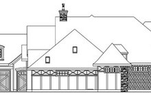 Home Plan - Tudor Exterior - Other Elevation Plan #124-748