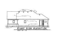 Craftsman Exterior - Other Elevation Plan #20-2066