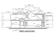 Home Plan - Mediterranean Exterior - Other Elevation Plan #20-256