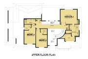 Modern Style House Plan - 4 Beds 3.5 Baths 3809 Sq/Ft Plan #1066-53 Floor Plan - Upper Floor Plan