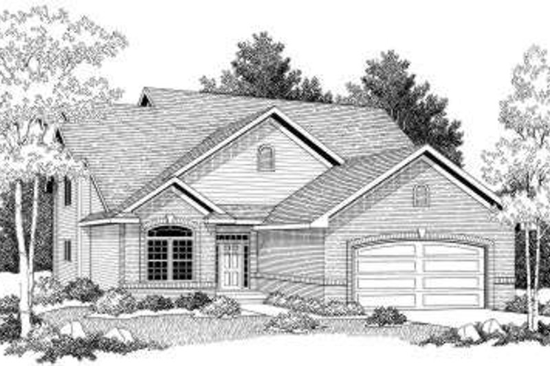 Traditional Exterior - Front Elevation Plan #70-603