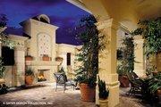 Mediterranean Style House Plan - 4 Beds 6.5 Baths 5265 Sq/Ft Plan #930-190 Exterior - Outdoor Living