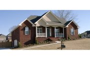 Traditional Style House Plan - 4 Beds 3 Baths 2419 Sq/Ft Plan #63-217 Exterior - Front Elevation