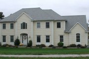 Colonial Style House Plan - 4 Beds 3.5 Baths 3544 Sq/Ft Plan #75-108 Exterior - Other Elevation