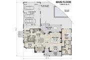 Farmhouse Style House Plan - 4 Beds 3.5 Baths 3011 Sq/Ft Plan #51-1139 Floor Plan - Main Floor Plan