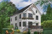 European Style House Plan - 4 Beds 2.5 Baths 2750 Sq/Ft Plan #23-2045