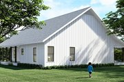 Farmhouse Style House Plan - 4 Beds 2 Baths 2096 Sq/Ft Plan #44-249 Exterior - Rear Elevation