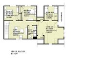 Craftsman Style House Plan - 4 Beds 2.5 Baths 2360 Sq/Ft Plan #901-138 Floor Plan - Upper Floor