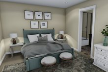 House Plan Design - Traditional Interior - Master Bedroom Plan #1060-4
