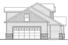 Craftsman Exterior - Other Elevation Plan #124-772
