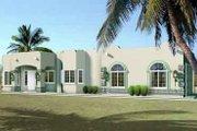 Adobe / Southwestern Style House Plan - 4 Beds 2 Baths 2056 Sq/Ft Plan #1-1411