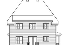 Home Plan - Farmhouse Exterior - Rear Elevation Plan #23-864