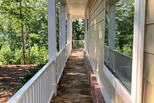 Side Walkway between Porches