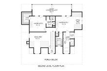 Country Floor Plan - Upper Floor Plan Plan #932-43