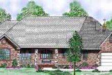 Dream House Plan - European Exterior - Front Elevation Plan #52-178