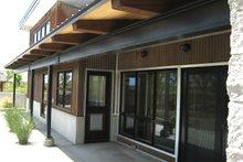 Home Plan - Modern Exterior - Covered Porch Plan #451-18