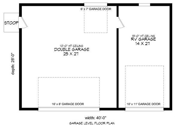 Country Floor Plan - Main Floor Plan Plan #932-142