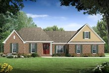 Traditional Exterior - Front Elevation Plan #21-210
