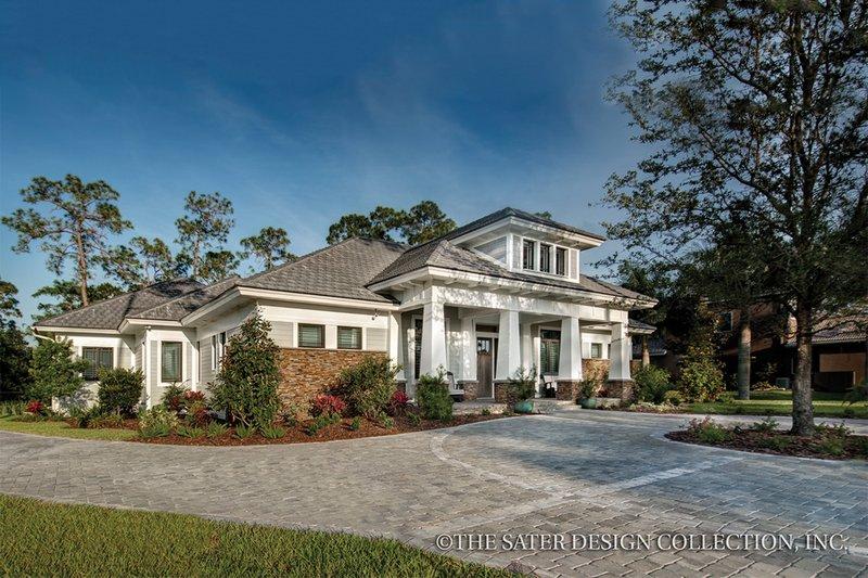 Bungalow Exterior - Front Elevation Plan #930-19 - Houseplans.com