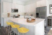 Beach Style House Plan - 3 Beds 2.5 Baths 1830 Sq/Ft Plan #938-108 Interior - Kitchen