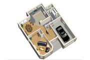 European Style House Plan - 4 Beds 2 Baths 1820 Sq/Ft Plan #25-4474 Floor Plan - Main Floor Plan