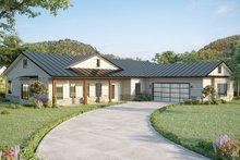 Architectural House Design - Farmhouse Exterior - Front Elevation Plan #1077-3