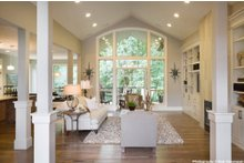 Craftsman Interior - Family Room Plan #48-615