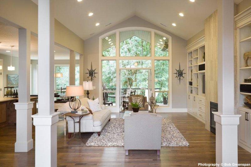 Craftsman Interior - Family Room Plan #48-615 - Houseplans.com