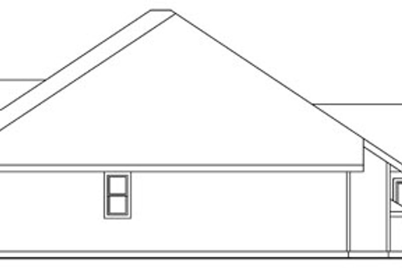 Traditional Exterior - Other Elevation Plan #124-764 - Houseplans.com