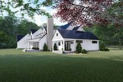 Farmhouse Style House Plan - 4 Beds 3.5 Baths 3310 Sq/Ft Plan #923-117 Exterior - Other Elevation