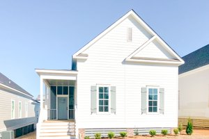Traditional Exterior - Front Elevation Plan #69-400