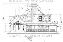 House Plan Design - Farmhouse Exterior - Rear Elevation Plan #120-104