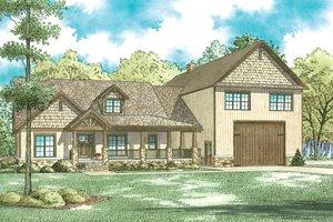 Craftsman Exterior - Front Elevation Plan #17-3429