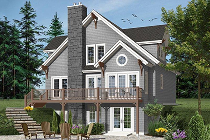 House Plan Design - European Exterior - Front Elevation Plan #23-2513