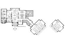 Traditional Floor Plan - Main Floor Plan Plan #928-329