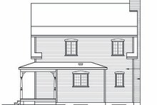 Dream House Plan - Traditional Exterior - Rear Elevation Plan #23-677