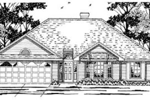 Traditional Exterior - Front Elevation Plan #42-239