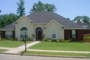 European Style House Plan - 3 Beds 2.5 Baths 2157 Sq/Ft Plan #69-181 Exterior - Front Elevation