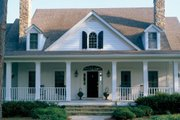 Country Style House Plan - 4 Beds 3.5 Baths 3940 Sq/Ft Plan #429-32 Exterior - Other Elevation