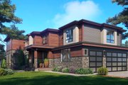 Contemporary Style House Plan - 5 Beds 5 Baths 4748 Sq/Ft Plan #1066-118